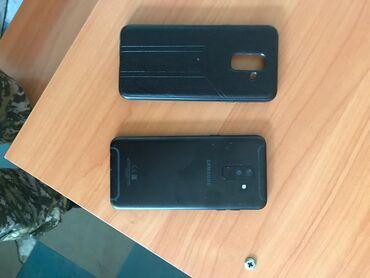 черный suzuki в Ак-Джол: Б/у Samsung Galaxy A6 Plus 32 ГБ Черный
