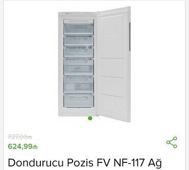 dondurucu - Azərbaycan: No Frostİstehsalçı - Pozis Tip - Dondurucu Ölçülər sm - 1,56x59,5x64