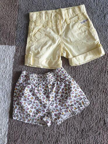 Ostala dečija odeća | Crvenka: Sortsevi za devojčice vel 116 . Pamuk. Cena po komadu Pogledajte i