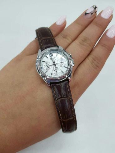 Женские Серебряные Классические Наручные часы Casio в Бишкек