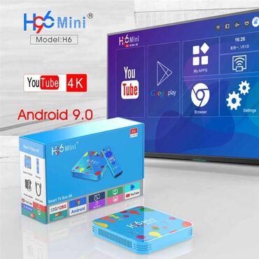 tv box - Azərbaycan: Tv boxH96miniRam 4GBYaddaşi 32GBANDROİD 9⃣Bluetoothİstənilən sayda