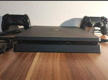 джойстики kungber в Кыргызстан: PlayStation 4 slim Полный набор два джойстика оригинал провода все на