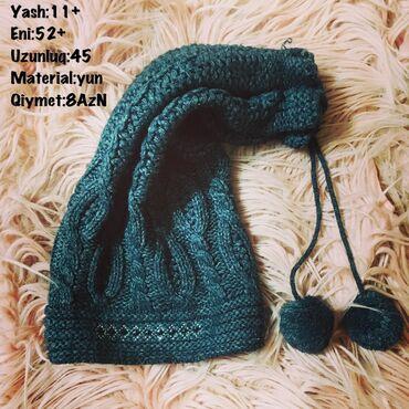 Yash:11+ Eni:52+ Uzunluq:45 Material:yun Qiymet:8AzN
