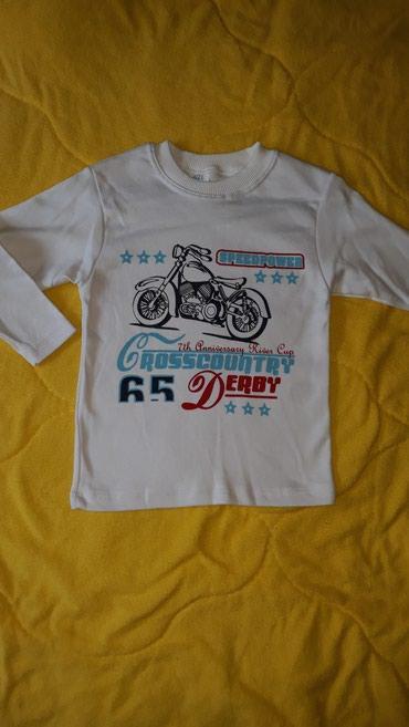 NOVO! Majica na dug rukav za decaka, velicina 2-3 godine - Valjevo
