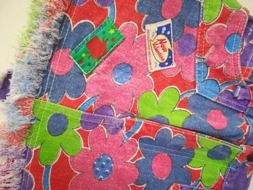 Prelepa suknjica za 6-7god Šareni teksas  - Batajnica - slika 4