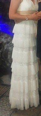 Красивое платье б. у в отличном состоянии одето один раз 44-48р в Бишкек