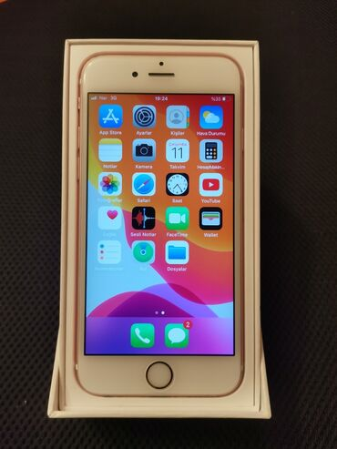 чехол iphone 6s в Азербайджан: Б/У iPhone 6s 16 ГБ Розовое золото (Rose Gold)