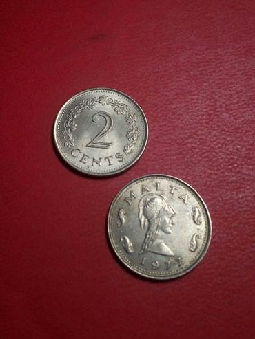 Kovanica 2 centa Malta 20din cena po kovanici - Kragujevac