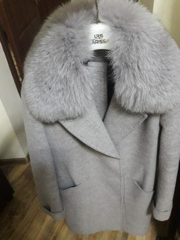 Кашемировое пальто почти новое в Бишкек