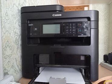 Электроника - Студенческое: Продается принтер, модель Canon MF237W работает все отлично цену