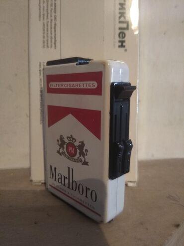 зажигалка zippo в Кыргызстан: Сигаретница с зажигалкой