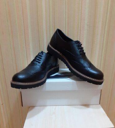 Мужская обувь в Азербайджан: Ayaqqabilar,teze,temiz deri,razmerleri var, sonu 40 manat