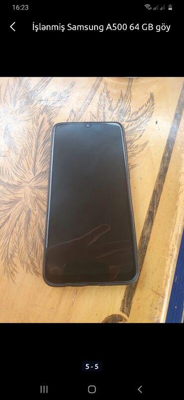 - Azərbaycan: İşlənmiş Samsung A50 64 GB Göy