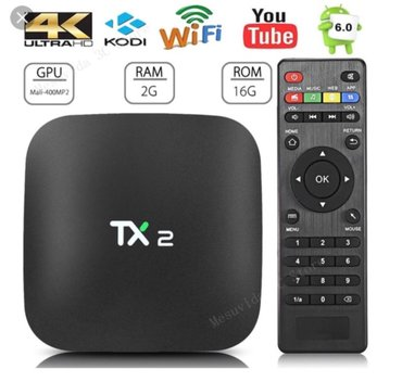 Tx2 quad core android smart tv box 2gb ram, android 6. 01 android tv - Beograd