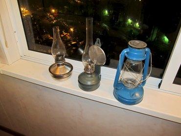 Керосиновая лампафотографии не родные но в отличном состоянии в Бишкек