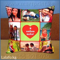 """Фотоподушки от """"mart print"""" в Бишкеке. в Бишкек"""