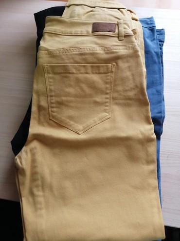 Pantalone zlatne - Srbija: Pantalone od kepera nove nikad nosene marke Spirit