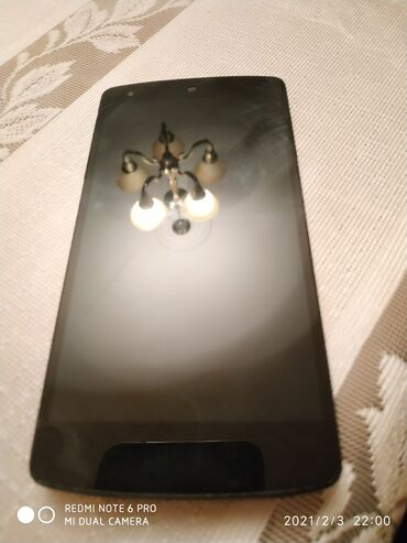 lg g pro e980 в Азербайджан: Lg Nexus 5  Əfsanəvi modeldi . Tam işlək vəziyyətdədir  Arxa tərəfi bi
