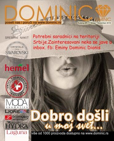 """,,DOMINIC""""Potrebni saradnici na teritoriji cele Srbije.Besplatno - Belgrade"""