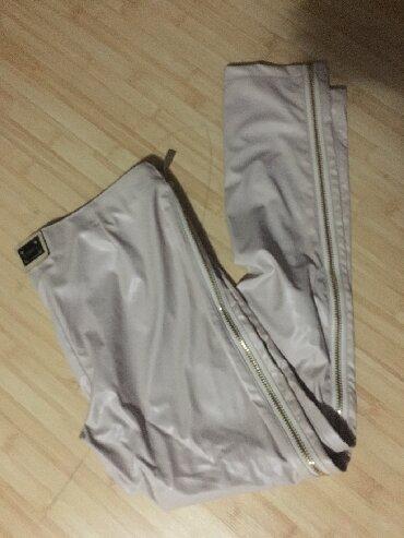 Pantalone kozne - Srbija: Kozne pantalone s vel