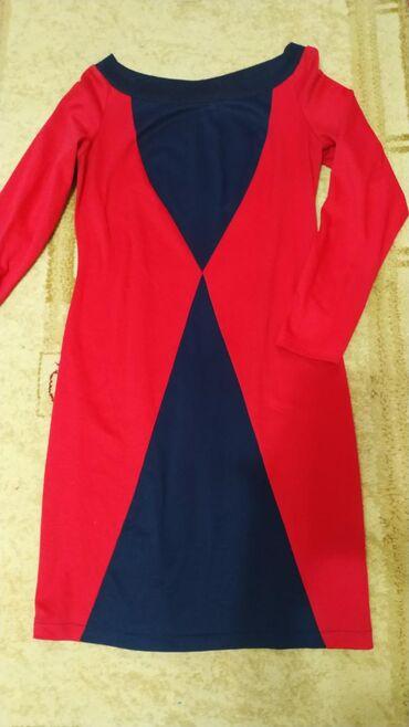 Трикотажное красивое платье Размер 46-48