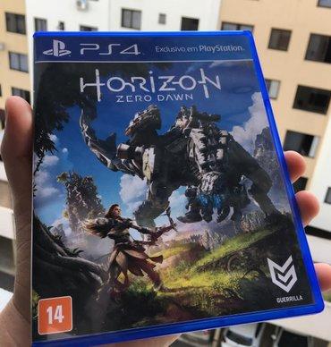 Bakı şəhərində Horizon zero down ps 4 game