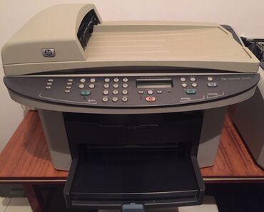 Принтер HP 3030 3 в 1. Ксерокопия печать сканер. Печатает четко чисто