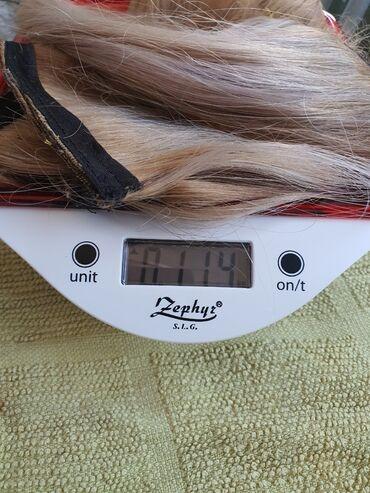 Kosa prirodna - Srbija: 114 grama kosa na tresi 50cm prirodna Brazilska kosaKvalitet vrhunski