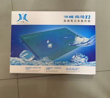 для ноутбука подставка в Кыргызстан: Подставка-кулер с двумя LED вентиляторами для ноутбука.Модель: X2●
