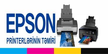 IT, internet, telekom Bakıda: Her nov Printerlerin temiri yuksek ve pesekar xidmet