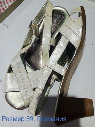 Продаю летнюю женскую обувь из Германии. Размер на фото. Заходите в
