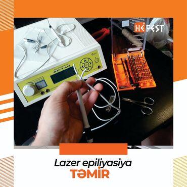 Digər xidmətlər - Azərbaycan: Lazer epilasiya avadanlıqlarınız əvvəlki performansını vermir?