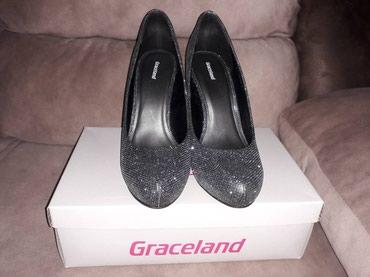 Cipele jednom obuvene,br 41. stikla 12 cm. cena 1600.din - Pancevo