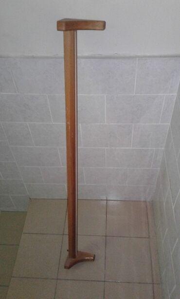 Деревянная гардина для штор с одной дорожкой, длиной 145 см
