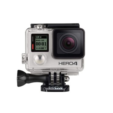 GoPro Hero 4 Silver + 32 GB memory card + Smatree battery kit (2