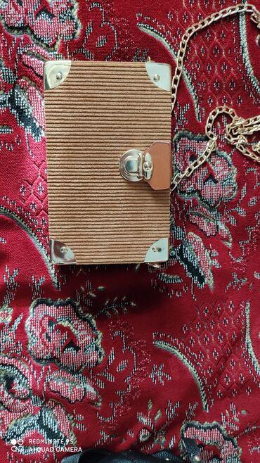 Личные вещи - Каинды: Мини-сумочка в отличном состоянии, как новая 300 сом