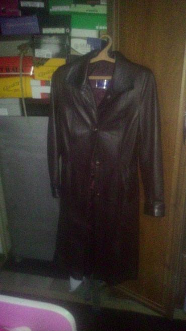 Продаю кожаный плащ,в идеальном в Бишкек