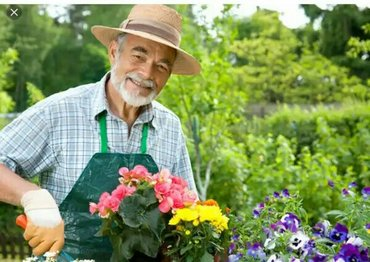 Требуется садовник в частную в Ош
