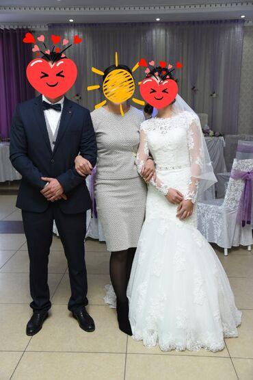 Продаю шикарное свадебное платье-рыбку. Платье американского производ