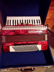 Harmonika rojal standard original 80 badova dobro ocuvana sa koferom - Jagodina