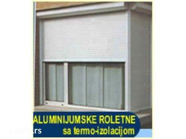 Roletne aluminijumske sa termo-izolacijom u lamelama.. U vise boja.. - Beograd