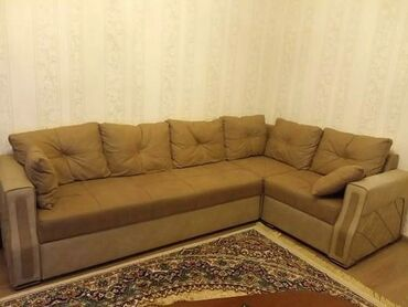 qobu - Azərbaycan: Kunc divan 500 azn.divan acilir yataq olur.Olcu 2,88/1,72 di.unvan