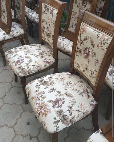 Столы и стулья из карагача на заказ! доставка по городу бесплатная! в Бишкек