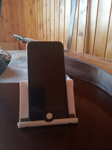 apple iphone a в Кыргызстан: Б/У iPhone 6 64 ГБ Серебристый