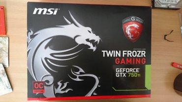 MSI GTX 750 TI GAMING 2G GeForce GTX 750 Ti 2GB GDDR5 - Nis