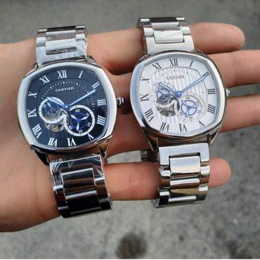 Bakı şəhərində Kişi Gümüşü Klassik Qol saatı Cartier