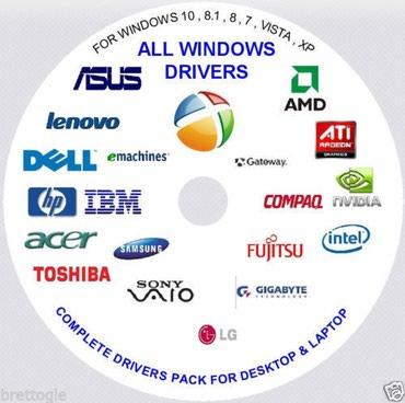 Wondows XP, Windows 7, Windows 8.1, Windows 10 və driverlerin flaş в Masallı