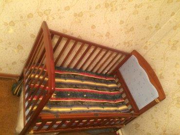 Детская,деревянная кроватка с в Бишкек