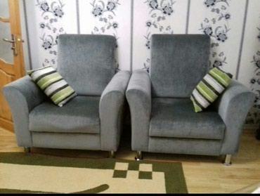 Bakı şəhərində Продаю новые 2 креслы из фирмы Emowoob зелёного цвета