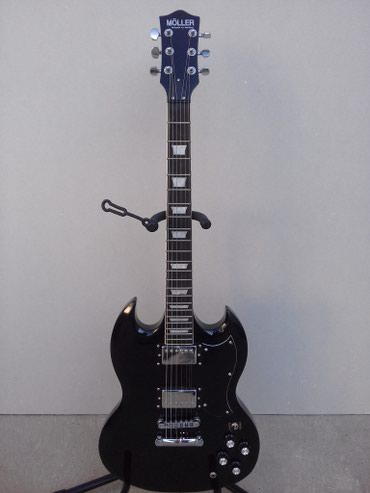 Novo - Moller Germany - SG - model,izuzetne gitare - kvalitet. - Novi Sad